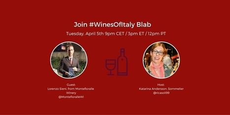 Talking Wine with Lorenzo Sieni from Montefioralle Winery | Wine, history and culture... | Scoop.it