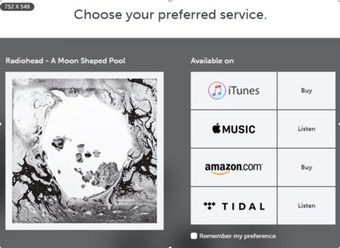 "Radiohead Streams ""A Moon Shaped Pool"" On Apple Music And Tidal, But Shuns Spotify 