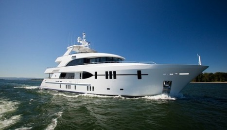 Luxury motor yacht Ocean Alexander 120 by Christensen Shipyards — Luxury Yacht Charter & Superyacht News | Beach | Scoop.it