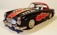 TIN FRICTION 1950'S MERCEDES BENZ 300 SL RACING CAR RACER #7 BANDAI JAPAN   ciencia   Scoop.it