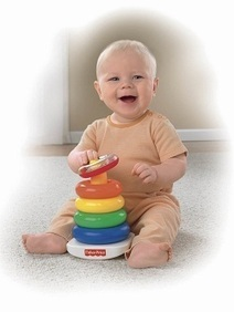 Brilliant Basics Rock-a-Stack by Fisher-Price | Educational & Learning Toys For 1 Year Old | Best Ride On Toys For Toddlers 2014 | Scoop.it