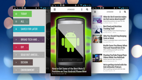 The Best News Reader Application for Android | Computer Tips and Tricks | Scoop.it