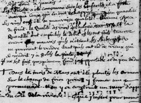 L'hiver 1782 à Angles-sur-Anglin  - Généablogique | GenealoNet | Scoop.it