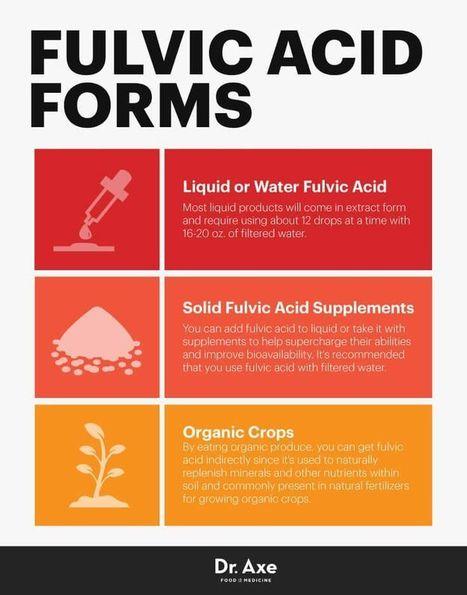 The Acid that Actually Improves Gut Health | Fulvic Acid & Humic Acid | Scoop.it