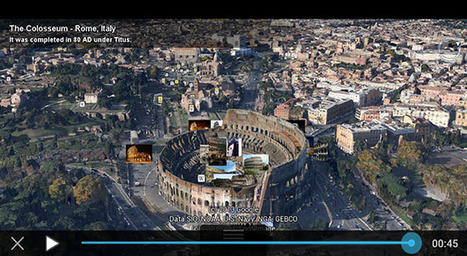 Google Earth's tour guide feature swells to the tune of 100K new ... | SEO and Social Media News and Views | Scoop.it