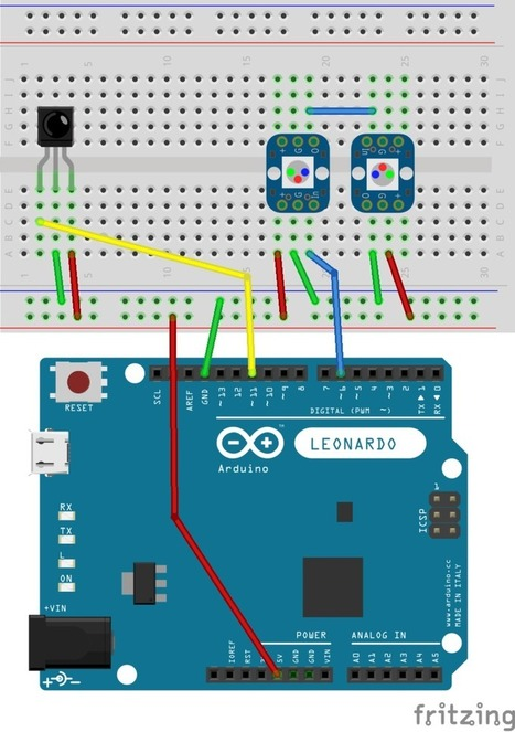 Infrared Controlled Mouse with Arduino Micro, Leonardo, or Yun | Adafruit Learning System | Open Source Hardware News | Scoop.it