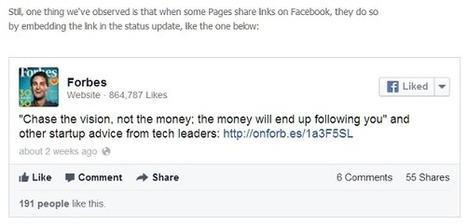 Pages Facebook : moins de visibilité pour les publications texte | CommunityManagementActus | Scoop.it