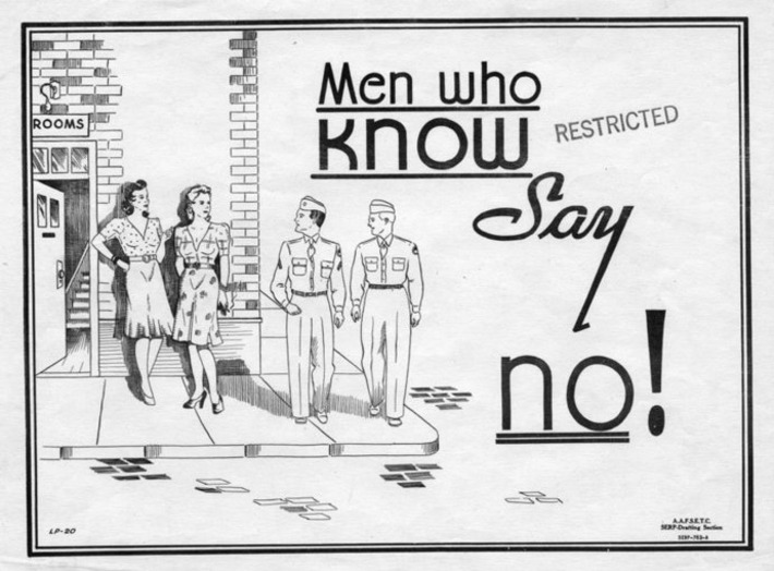 1939-1945 Anti-Prostitution Posters | Sex History | Scoop.it