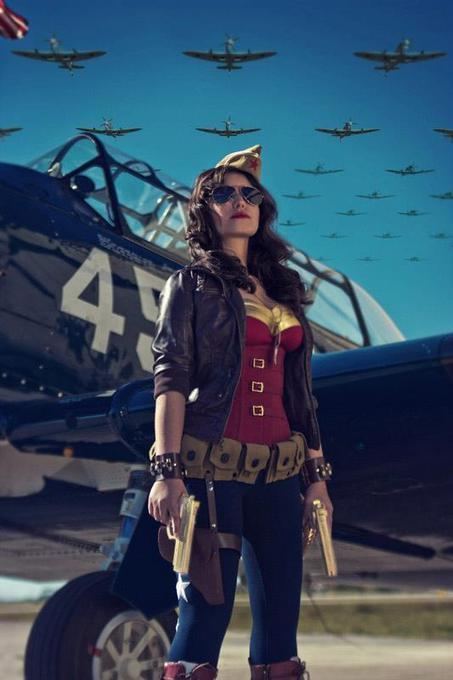 A Stunning WWII Wonder Woman Cosplay | Geek On | Scoop.it