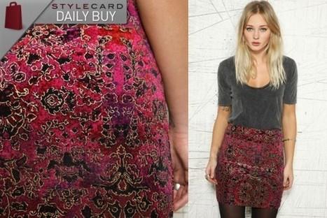 Daily Buy: Carpet Print Skirt | StyleCard Fashion Portal | StyleCard Fashion | Scoop.it
