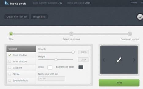 Iconbench se abre al público ofreciendo iconos personalizados gratis | Social Media Today | Scoop.it