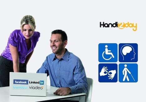 Handicap et recrutement à l'heure des réseaux sociaux | Le Mag' RH | Emploi et Recrutement | Scoop.it