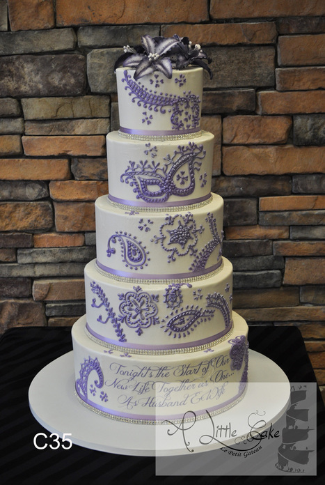 Gorgeous Buttercream Wedding Cake | Custom Cakes for You | Scoop.it