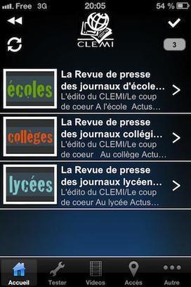 Le CLEMI lance une application mobile | dixmois | Scoop.it