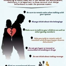 How to Deal With Your Emotional State during Divorce | Visual.ly | Legal Issues - Challenging Societies | Scoop.it