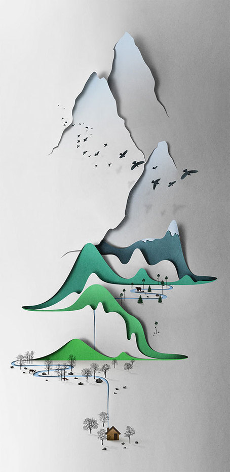 Paper art: 38 beautiful examples | Graphic design | Creative Bloq | ARTE, ARTISTAS E INNOVACIÓN TECNOLÓGICA | Scoop.it