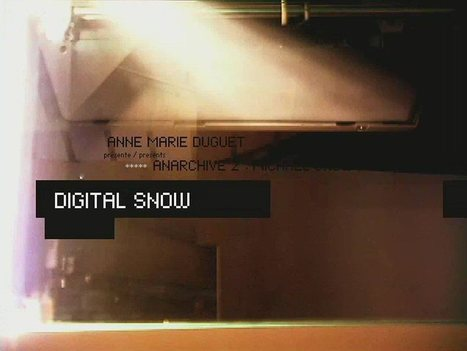 Digital Snow - Michael Snow and Anarchive - Daniel Langlois Foundation and Époxy Communications | arslog | Scoop.it