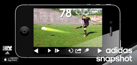 Mesure la vitesse de ta frappe de balle avec Adidas (Snapshot) | faire du sport autrement | Scoop.it