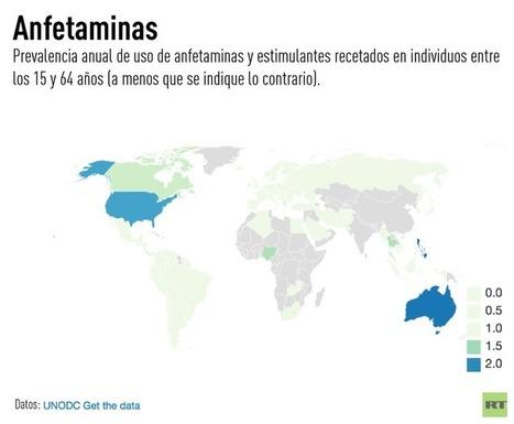 'El Cartel': 5 mapas que revelan cuáles son las drogas más usadas y los países que más las consumen | Policies 2.0 | Scoop.it