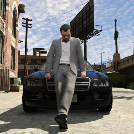 New 'GTA V' Screens Show Extreme Action and a Beautiful Game World | repongame | Scoop.it