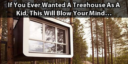 If You Ever Wanted A Treehouse As A Kid, This Will Blow Your Mind... | Small Houses and Sustainable Architecture | Scoop.it