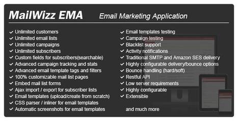 MailWizz – Email Marketing Application (PHP Scripts)   deji   Scoop.it