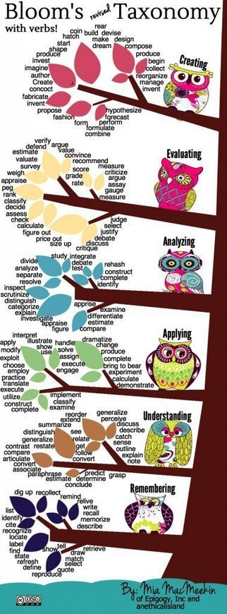 The Best Resources For Helping Teachers Use Bloom's Taxonomy In The Classroom | Library Web 2.0 skills | Scoop.it