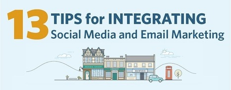 13 Expert Tips for Integrating Social Media and Email Marketing [INFOGRAPHIC] | digital | Scoop.it