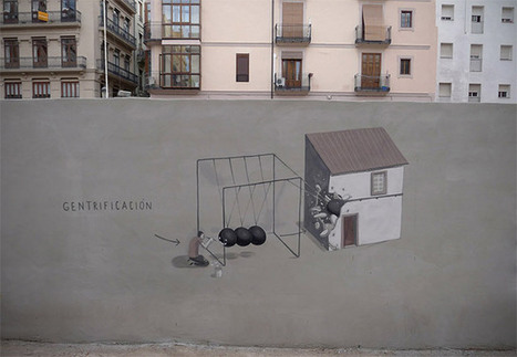Street Artist Escif Creates Murals That Contain Humor and Purpose | Cris Val's Favorite Art Topics | Scoop.it