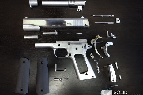 World's first real 3D-printed gun fires more than 50 rounds | Phillippo | Scoop.it
