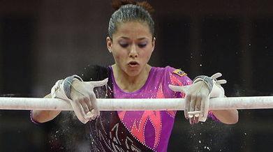 Jessica López ganó dos medallas de oro en la Copa de Gimnasia Artística