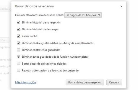 8 consejos para limpiar y optimizar tu navegador Google Chrome | Recull diari | Scoop.it