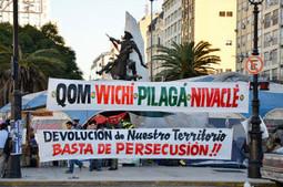 Acampe indígena y derechos humanos selectivos   Libres   Scoop.it
