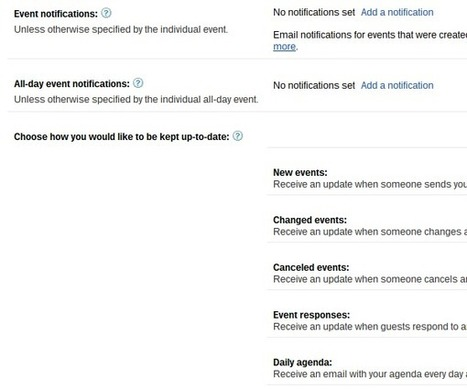 Supercharge Google Calendar: 30 Tips, Tricks, Hacks and Add-Ons | An Eye on New Media | Scoop.it
