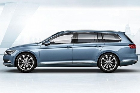 All-New 2015 Volkswagen Passat first official images released - Autospress.com | otomotive news | Scoop.it