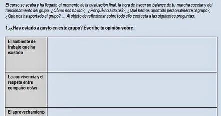 Reflexionando ante la 3ª Evaluación. Balance del curso Actividad de tutoría | #TuitOrienta | Scoop.it
