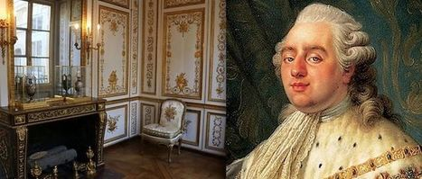 Le cabinet de travail secret de Louis XVI | Les Gentils PariZiens : style & art de vivre | Scoop.it