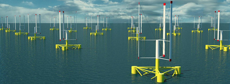 Bientôt des éoliennes flottantes en Méditerranée | ENERLAB TRANSITION ENERGETIQUE | Scoop.it