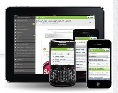 Alinto Motion fait évoluer la messagerie mobile de La Poste   Geeks   Scoop.it