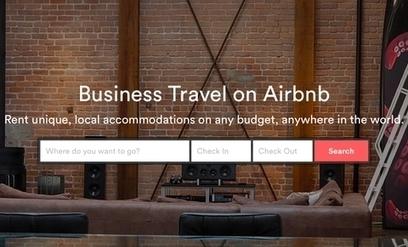 Airbnb se positionne sur le voyage d'affaires | Marketing News | Scoop.it