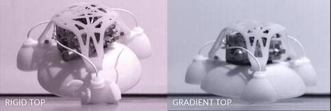 3-D-printed robot is hard inside, soft outside, and capable of jumping without hurting itself | KurzweilAI | Science And Wonder | Scoop.it