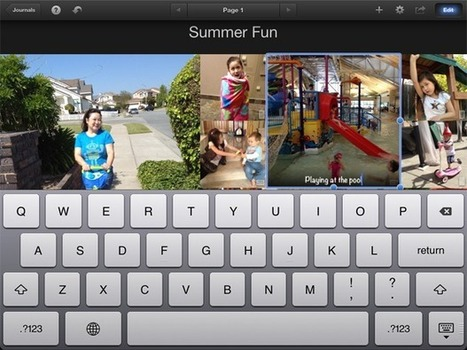 How to Create a Journal using iPhoto | Mac|Life | Edu Technology | Scoop.it