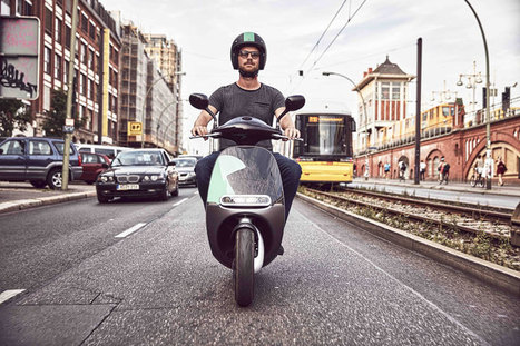 Lanciato Coup a Berlino, scooter elettrici in sharing | green car | Scoop.it