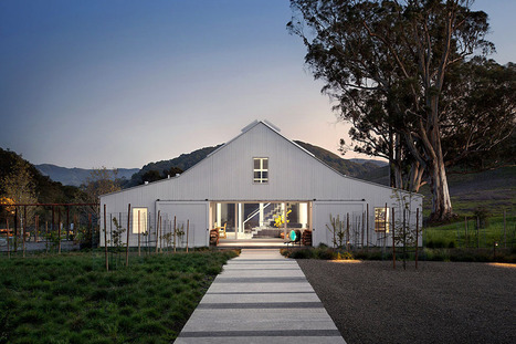 Elegant Eco-friendly Ranch in California Reshaping Rural Family Life | sustainable architecture | Scoop.it