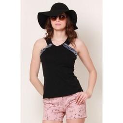 Black Beauty Animal Trim Top   Online shopping for women   Scoop.it