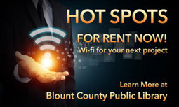 Hot Spots for Rent | Tennessee Libraries | Scoop.it