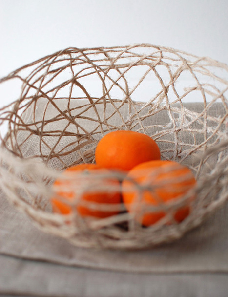 Create a Stunning String Bowl for Your Home   Crafttuts+   Idées de DIY   Scoop.it