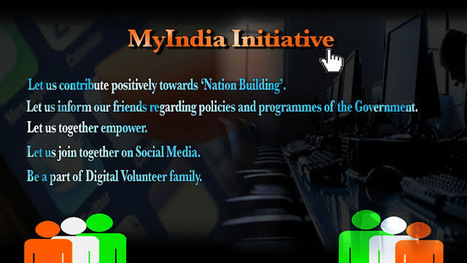 MyIndia Initiative- Digital Volunteer Programme | Top Videos | Scoop.it