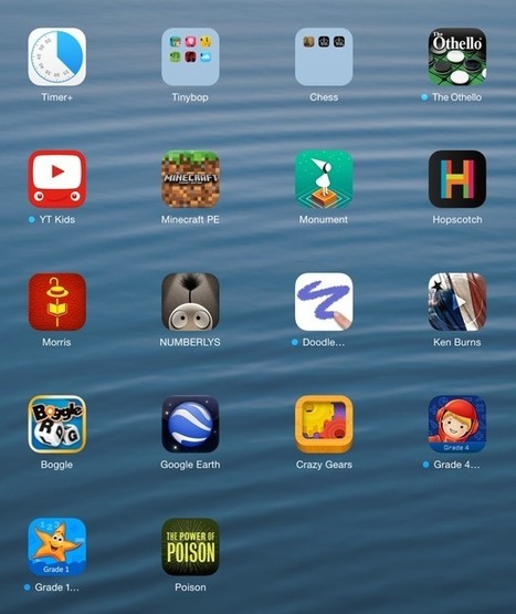 A bunch of great educational-ish iPad apps for kids | Misc | Scoop.it