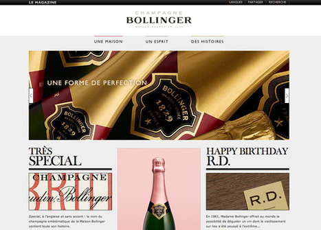 Bollinger lance son magazine en ligne, Life Can Be Perfect | champagne & marketing | Scoop.it